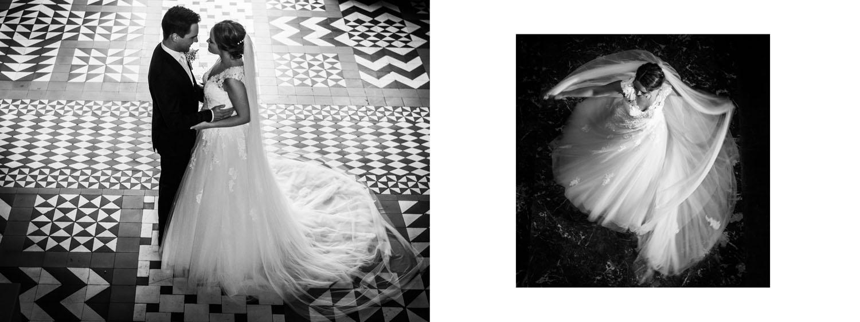 Bruidsalbum, kleur en zwart-wit, Cfoto, bruidsfotografie