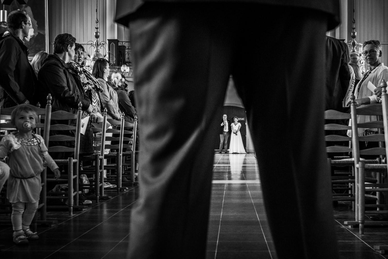 Copy of Aanvang kerkelijk huwelijk sint Gertrudiskerk Bergen op Zoom door Cfoto