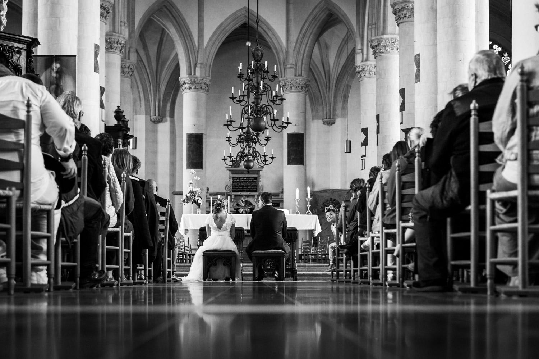 Copy of mooie overzichtsfoto Peperbus in Bergen op Zoom tijdens een huwelijksceremonie door Cfoto