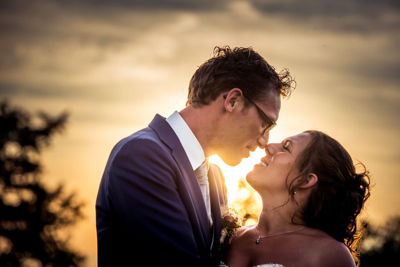 Copy of kus bij ondergaande zon