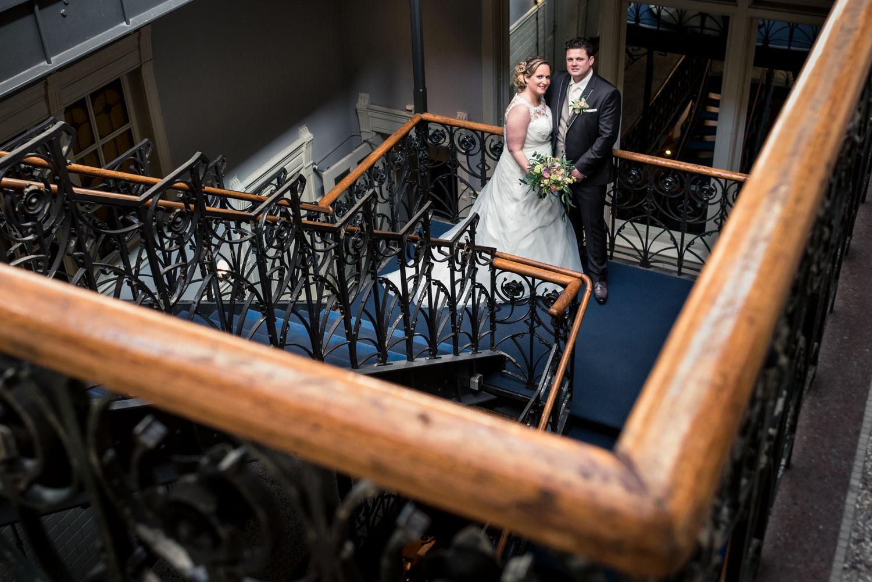 trouwfotograaf Cfoto maakte deze foto in Hotel New York