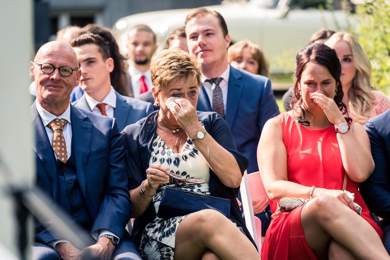 emoties en tranen bij de gasten op landgoed Wolfslaar