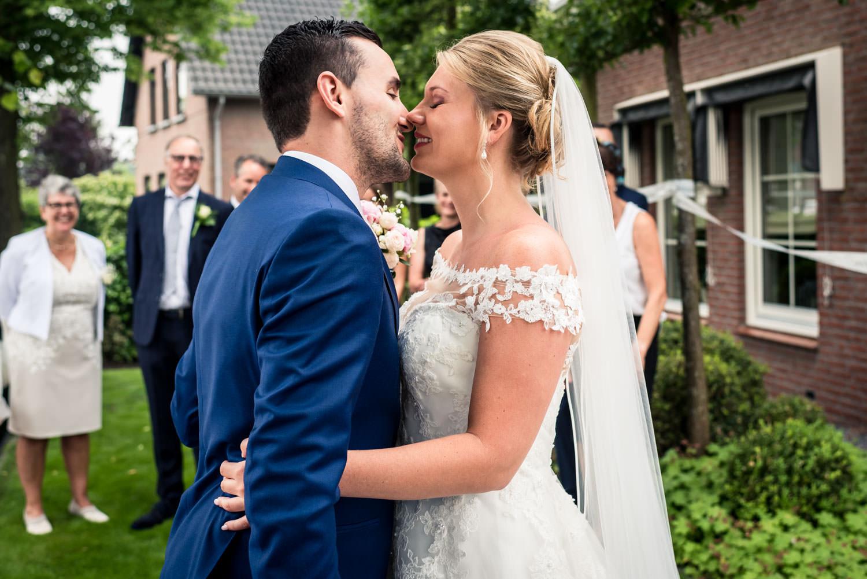 bruidsfotografie ontmoeting tussen de bruid en bruidegom