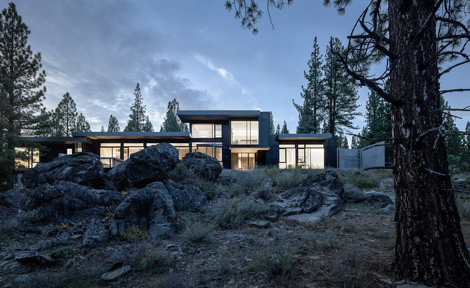 Creek House, by Faulkner Architects, from Wallpaper
