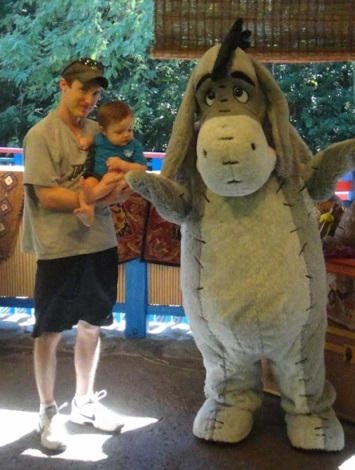 Pictured: Eeyore and Me.However, being any more specific at this point is pretty much impossible.