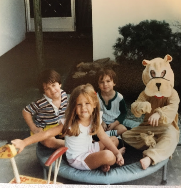 Perhaps you can guess which child is me?
