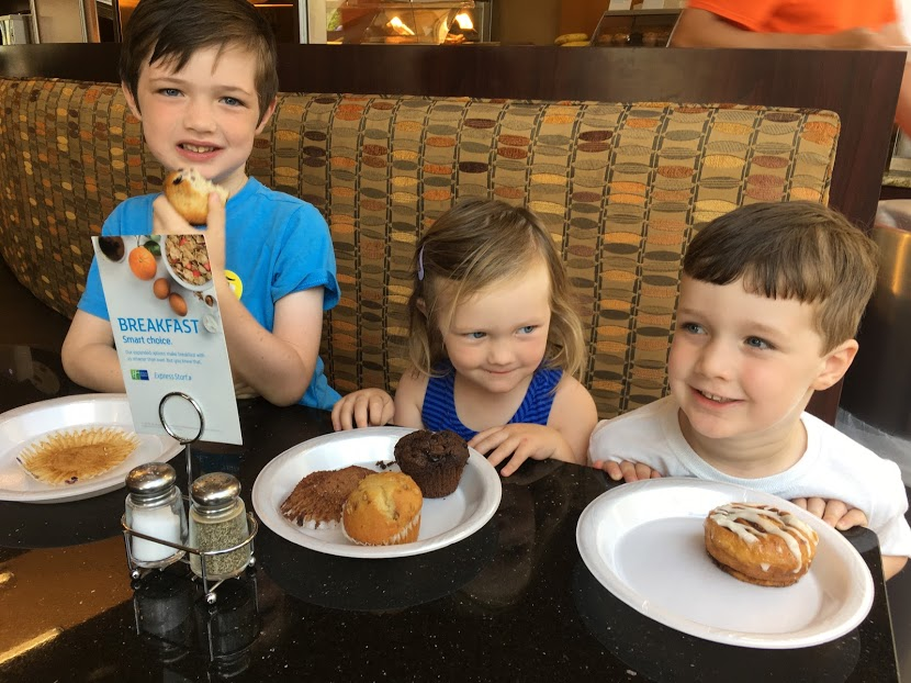 All three at hotel breakfast.JPG