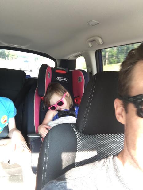 O sleeping in car seat sunglasses.JPG