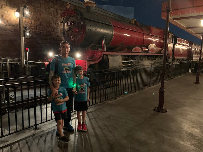Howarts Express - me and boys.JPG