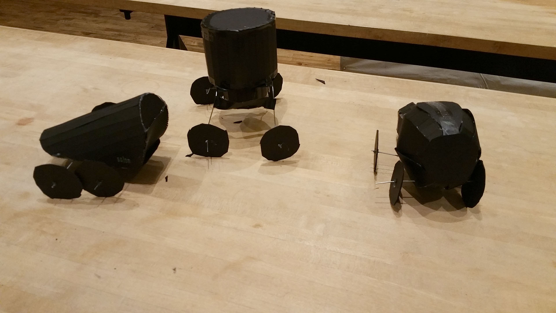 """""""Environmental Stealth"""" depaving, seed planting, and grass depositing robots"""