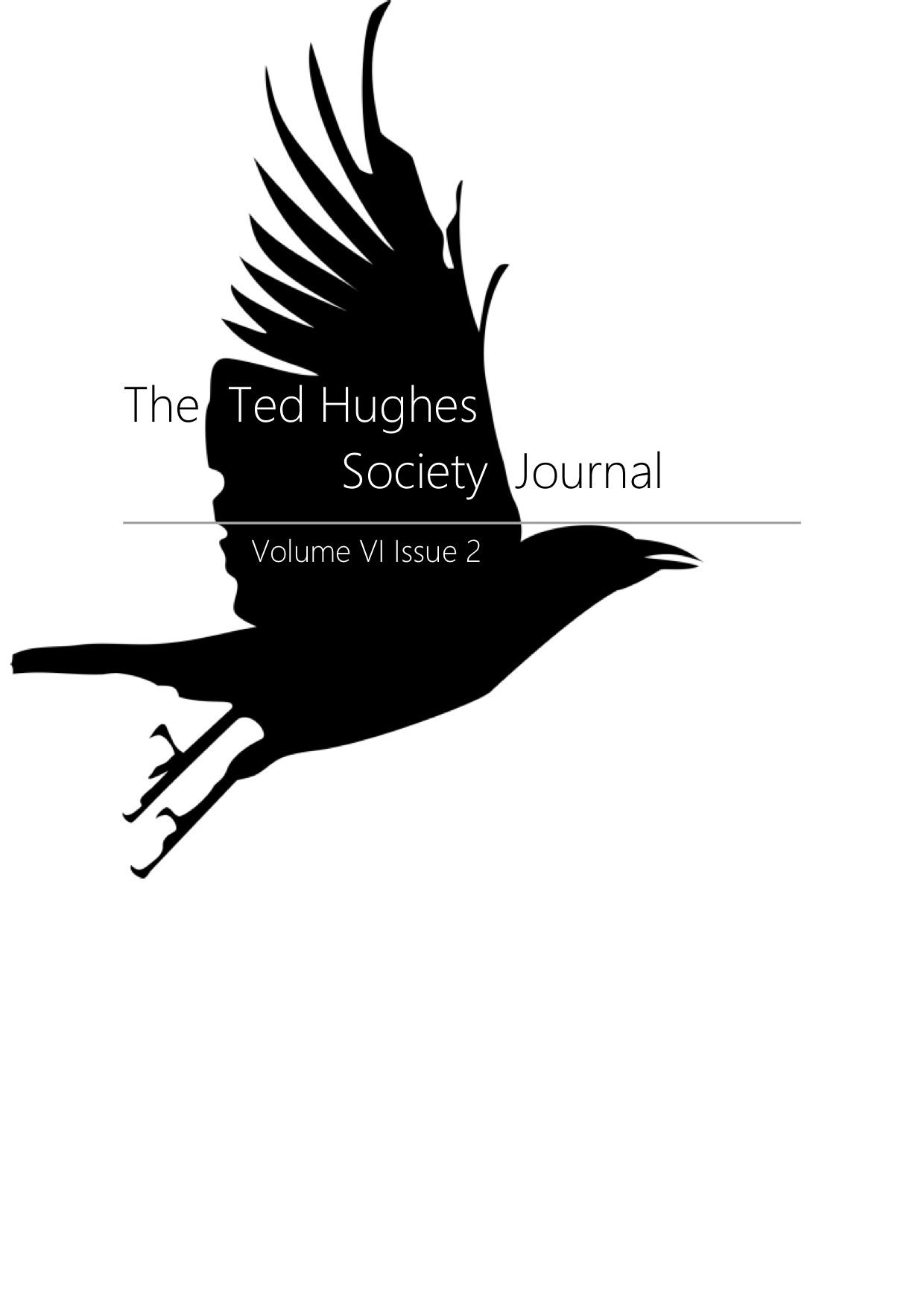 The Ted Hughes Society Journal VI.2 .jpg