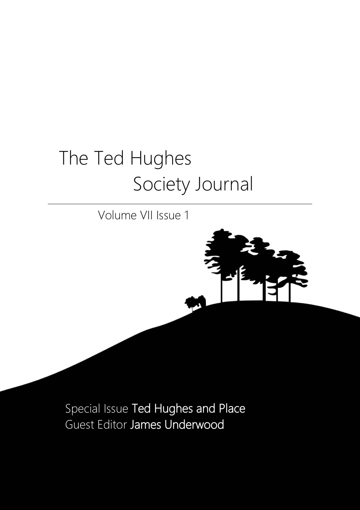The Ted Hughes Society Journal VII.1.jpg