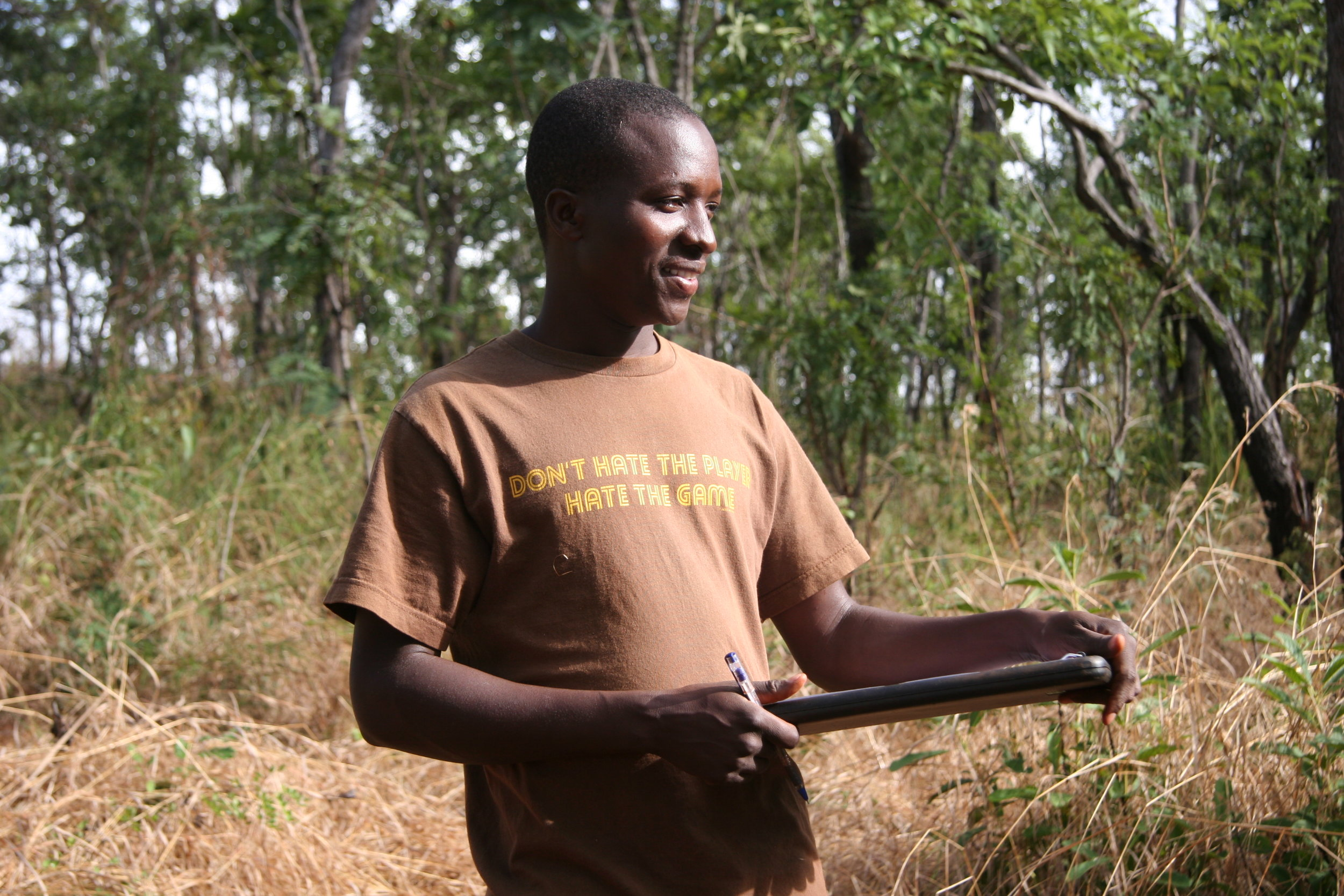 Wilbert Simibila, soil scientist, Tanzania