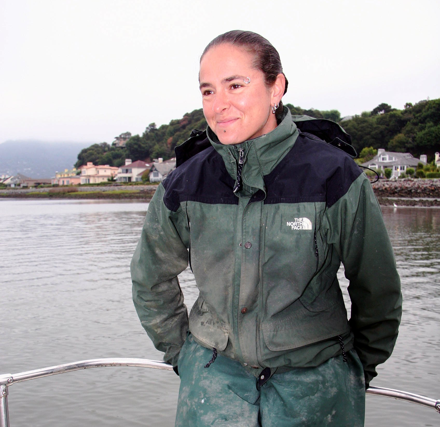 Lara, marine biologist, Richardson Bay