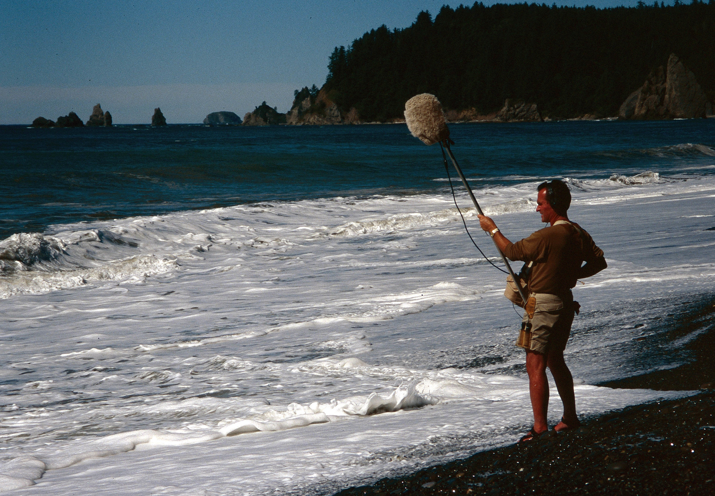 Gordon Hempton, sound tracker, Olympic National Park