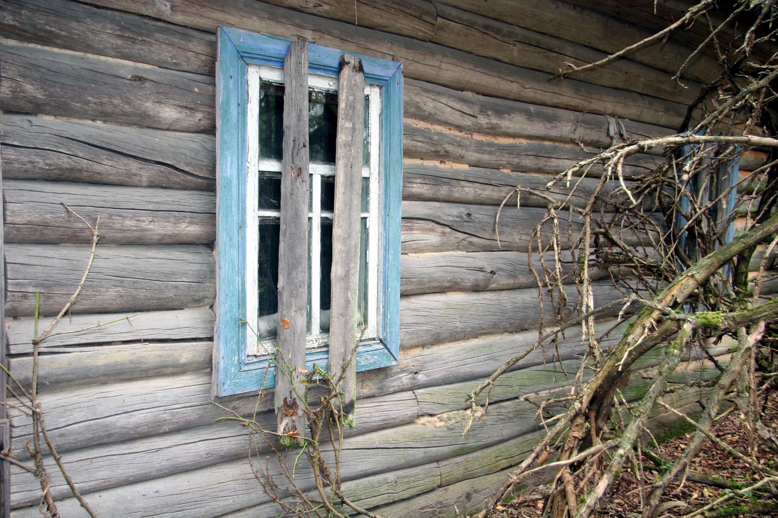 Abandoned house within the Chernobyl exclusion zone