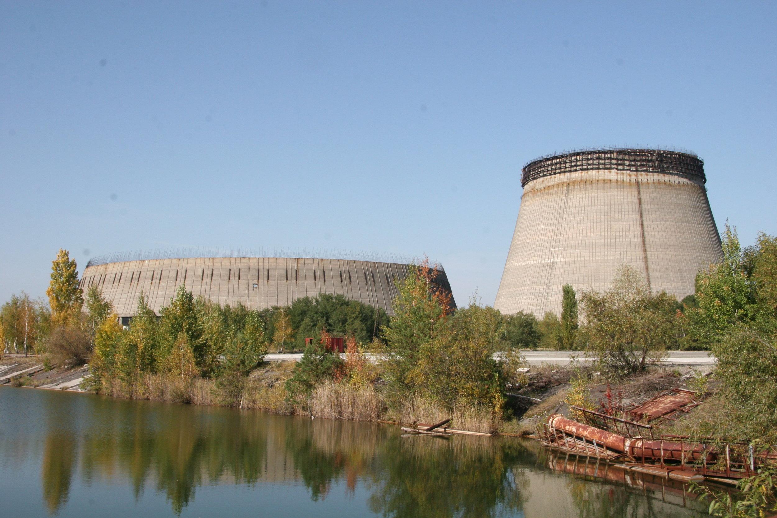 Abandonded No. 5 & 6 reactors