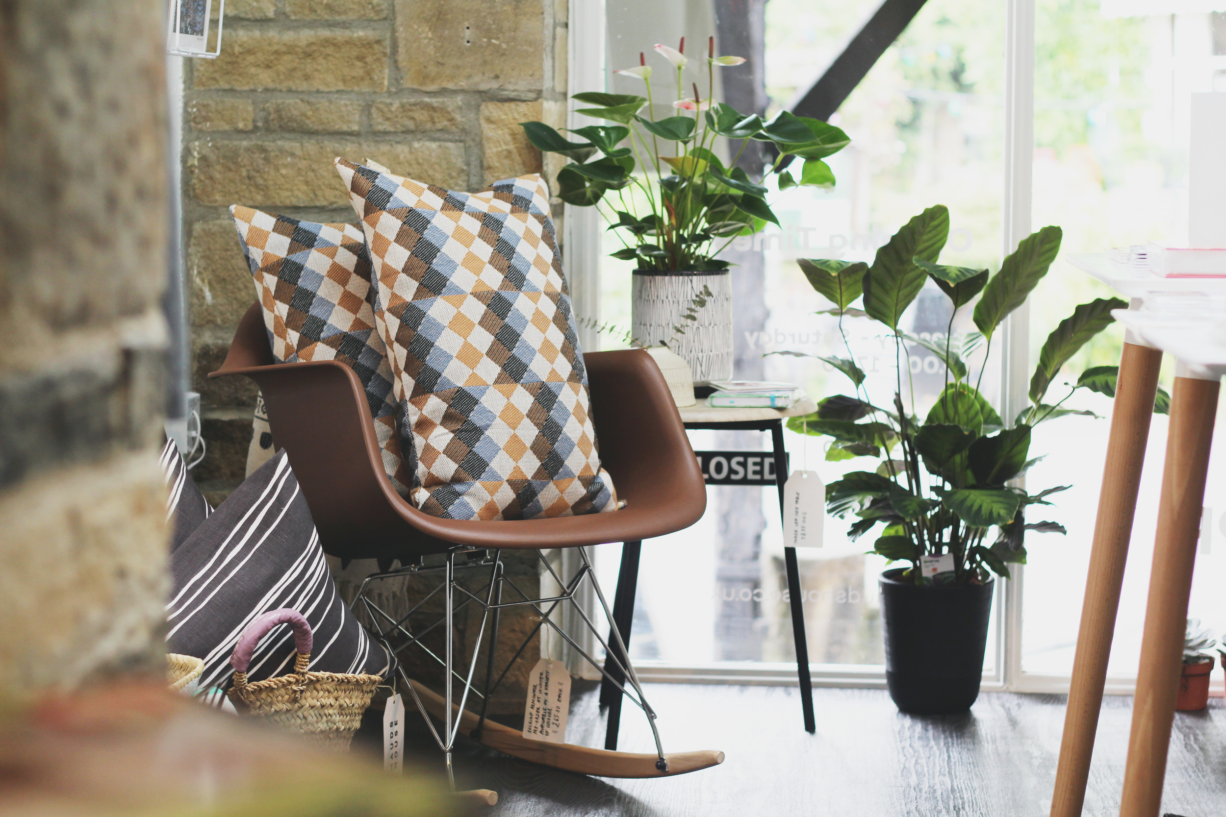 Blue Commedia Dell'arte Cushion