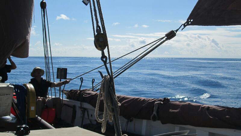 Sailing around the Scillies