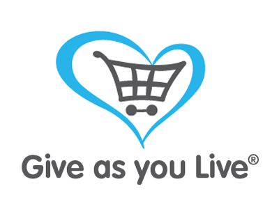 "Register for ""Give as you Live"" - Click the image above to be transferred to their site."