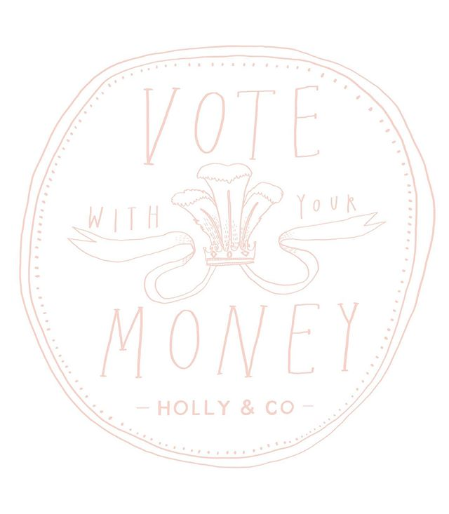 I'm so pleased to see this design for @hollytucker being shared so much for her #votewithyourmoney campaign 💰 ⠀⠀⠀⠀⠀⠀⠀⠀⠀ I truly believe that 'Every time you spend money, you're casting a vote for the kind of world you want.' -Anna Lappé ⠀⠀⠀⠀⠀⠀⠀⠀⠀ On that note...for the love of all that is holy, pleaseeeee think twice before buying things from Amazon 🙏🏻 ⠀⠀⠀⠀⠀⠀⠀⠀⠀ When I hear people triumphantly exclaiming about how cheap their Amazon purchases were, as if all other retailers are sneakily just out to fleece you, I just want to toot a loud horn and shout 'but that's not the TRUE COST 📯📯📯📯📯📯'. ⠀⠀⠀⠀⠀⠀⠀⠀⠀ It's cheap because humans are being EXPLOITED, only given zero hours contracts, TERRIBLE working conditions, not to mention the company doesn't pay its tax, and the owner is quite literally the RICHEST MAN IN THE WORLD. He does not need your money. When you buy from him you are casting a vote that all of this is acceptable... and probably funding his growing collection of private islands. ⠀⠀⠀⠀⠀⠀⠀⠀⠀ At every class that I teach, I give out a list of where to find supplies, AND discount codes kindly supplied by those sellers. Wondrous, independent small businesses that need supporting, they really do need your money. ⠀⠀⠀⠀⠀⠀⠀⠀⠀ It's all too easy to ignore the headlines so we can live in blissful ignorance, but I'm just leaving some articles here for you to remind you of how problematic it is to shop there... ⠀⠀⠀⠀⠀⠀⠀⠀⠀ I've tagged all my favourite supply shops or alternatives to Amazon, because their existence makes the world a more inspiring, glorious place. For all the other manner of things, I've personally switched to eBay (the lesser of the evils). Also for books, remember we have amazing libraries that are FREE, and authors still receive royalties. ⠀⠀⠀⠀⠀⠀⠀⠀⠀ P.s. I have absolutely no judgement for those who are struggling and who just want to shop at Amazon in peace, this post is not for you, you keep doing what you need to do... I find it hard accept that a few extra pounds to pay the TRUE COST is too much for rest of us though, and I include myself in that too.  @ethical_consumer_magazine has written a lot about this if you would like to read more ✌🏻