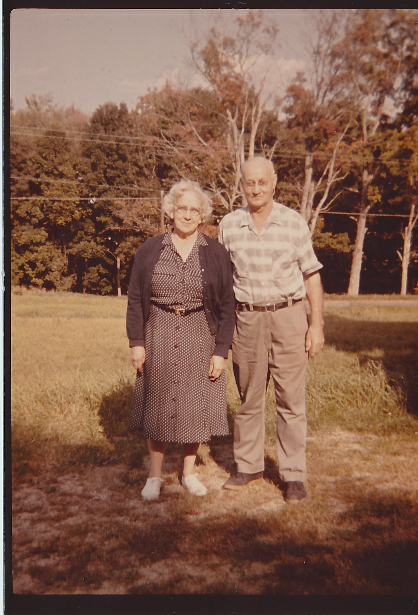 Nellie and Bert Fortier