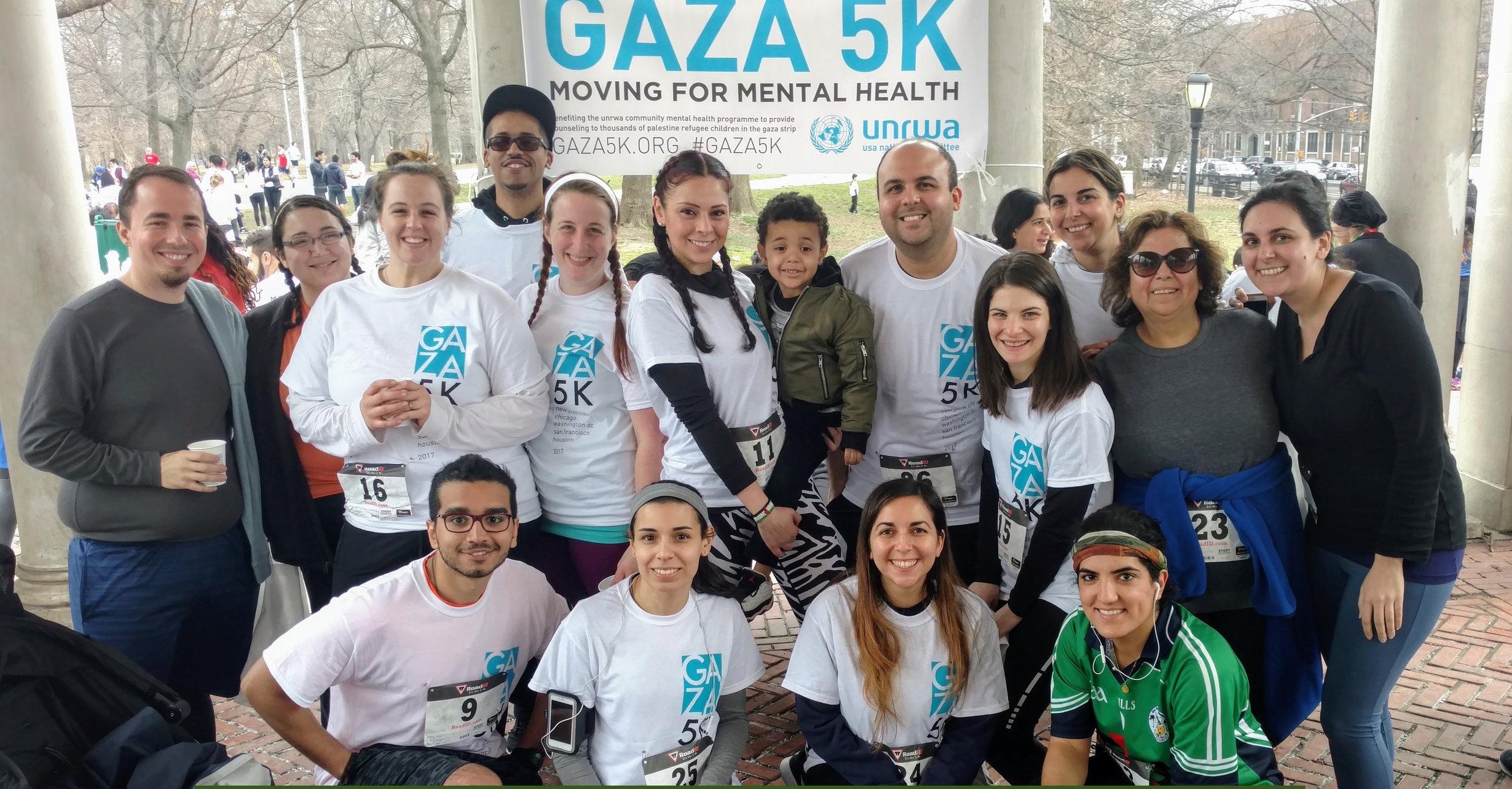 voices of the 2018 nyc gaza 5k: team olive gaza | 3.6.2018