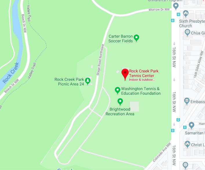 2019 Rock Creek Park location map.png