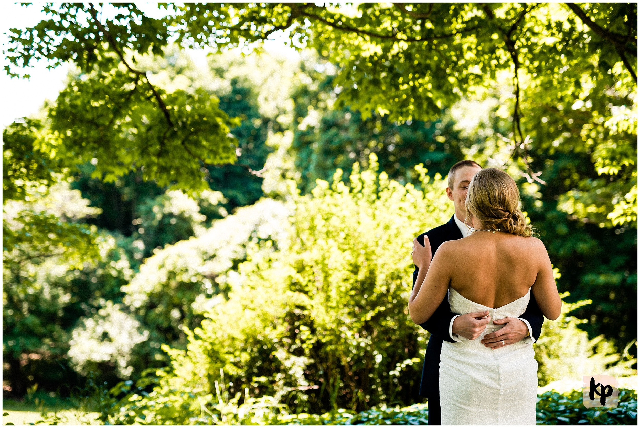 Matthieu + Katlyn | Just Married #kyleepaigephotography