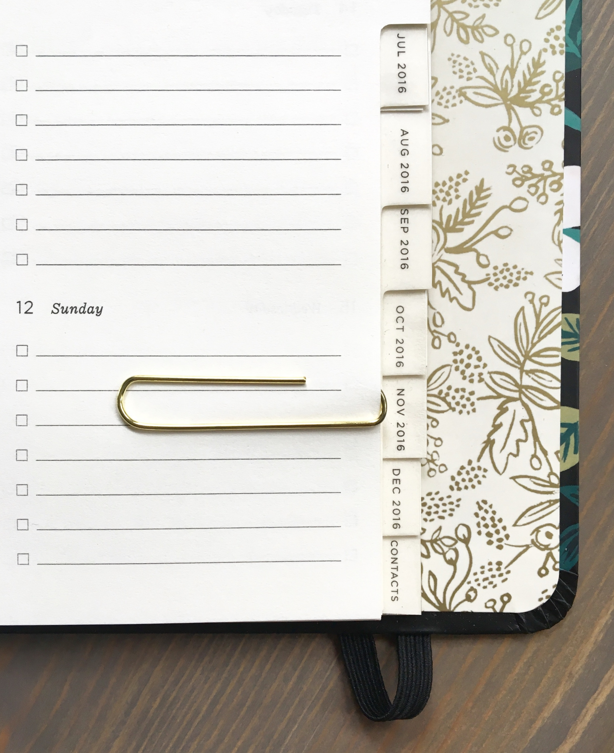 Planner by  Rifle Paper Co.