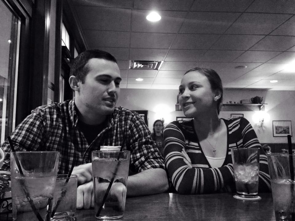 My brother and sister-in-law visiting for Christmas.