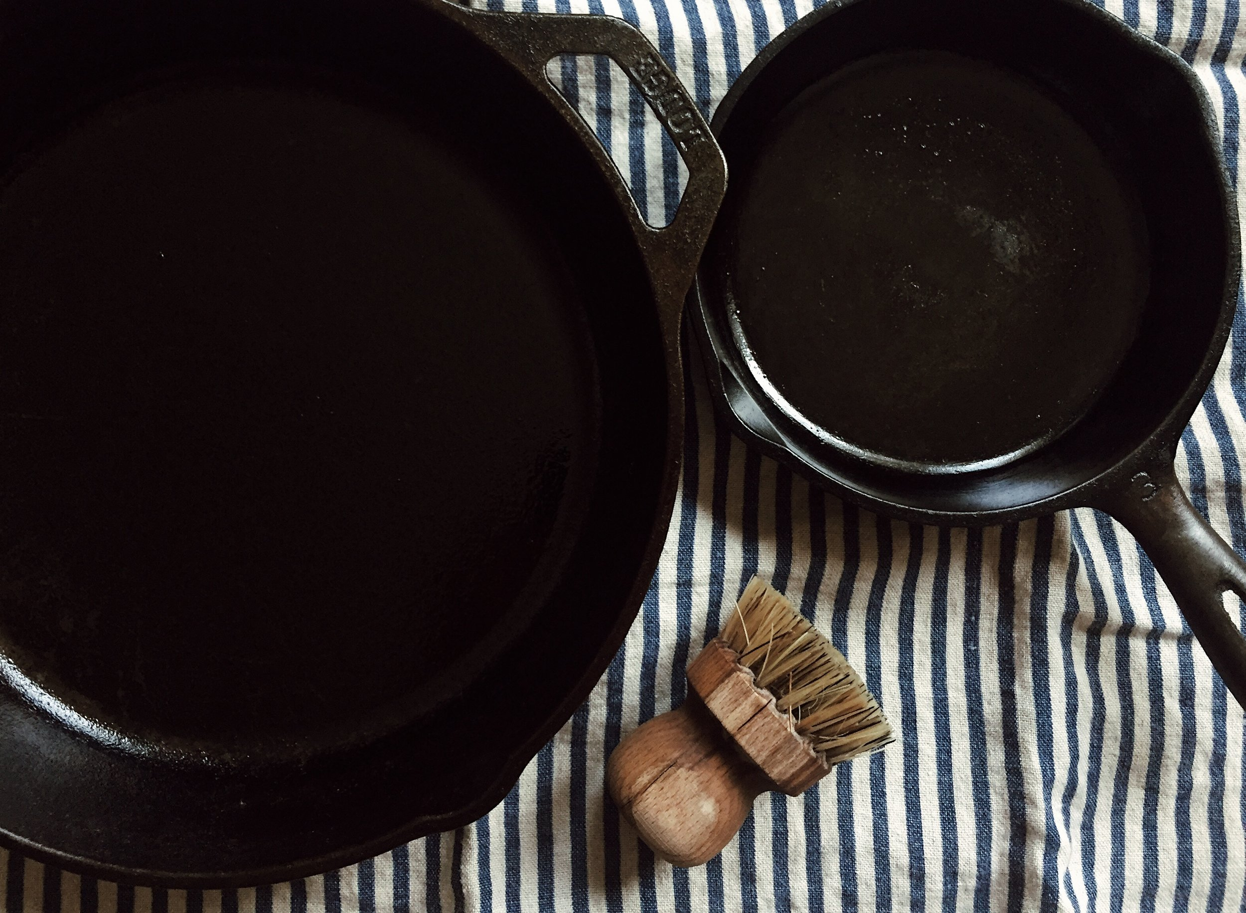 cooking with cast irons