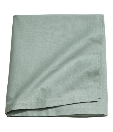 Table Cloth - Cord's got her eye on this beauty to cozy up her table. From the Conscious line at H&M, this is made from organic cotton.$6.99