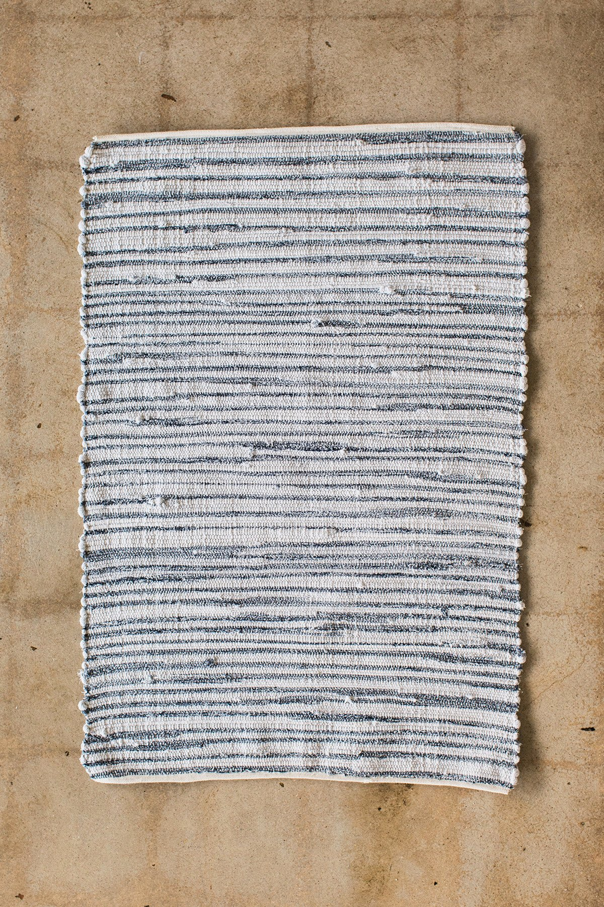 Willaby Hand-Loomed Rug No. 7 - Willaby makes these beautiful rugs from the leftover bolts of fabric used in their children's clothing line. No electricity is used in their production,What a gorgeous way to reduce waste and create such practical cozy places for our feet to land!$85.00 - 775.00