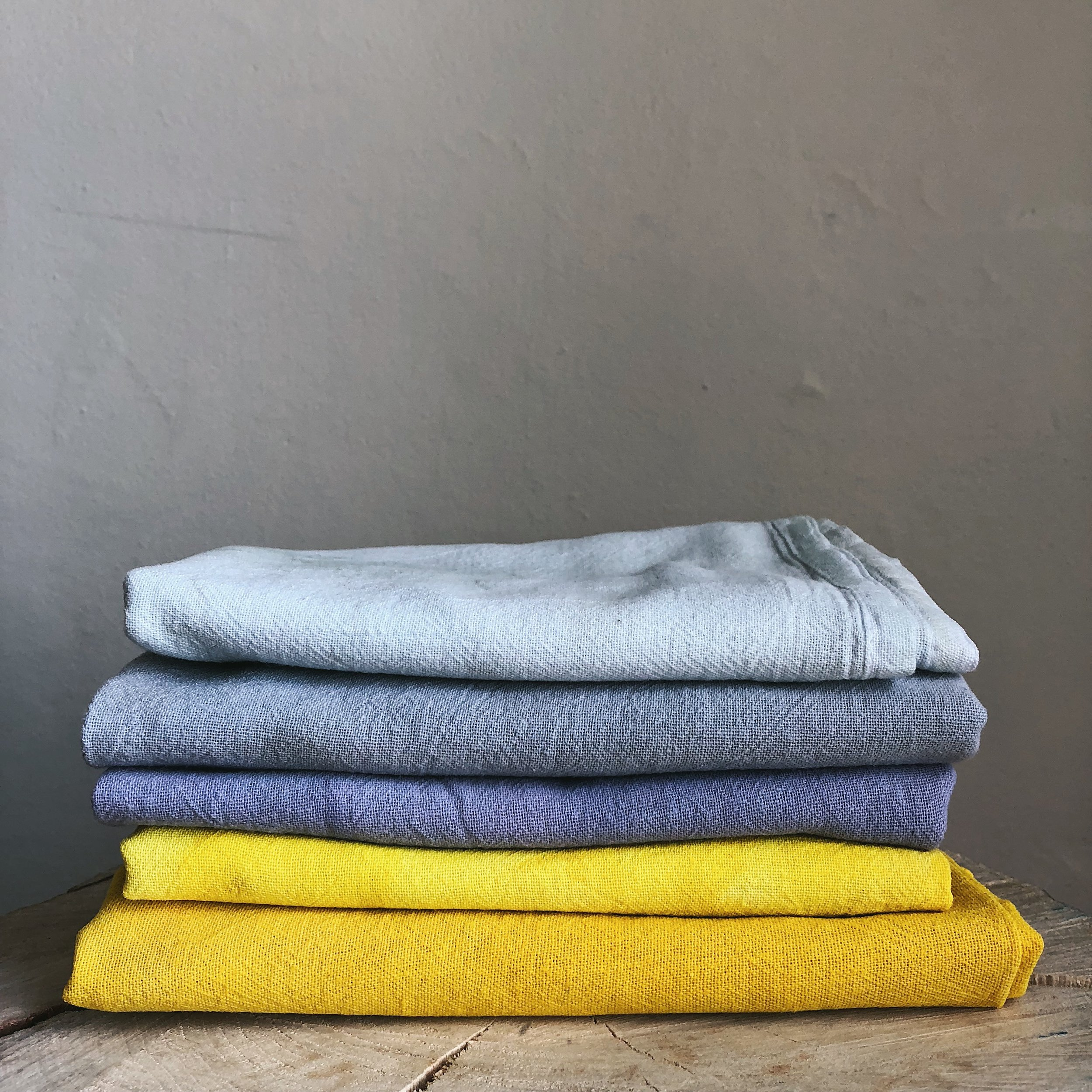 Natural Dye, Veggie Dye Kitchen Towels