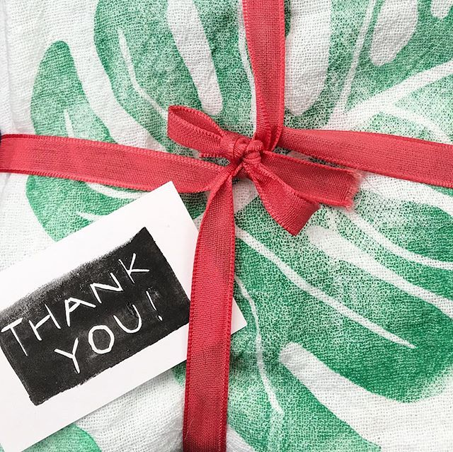 THANK YOU for your orders and kind words!! We've enjoyed being able to share our handmade gifts with you this holiday season. The shop will be closed from now until January 2nd, 2019, so we can cozy up by the fire with scotch, puzzles and our people. MerryHappyChristmasHanukkah!! - - - - #zerowastewrapping #zerowasteliving #zerowastecollective #reusuablewrapping #zerowaste #teatowel #makersworkshop #createmakeshare #colorstory #handmadechristmas #wearethemakers #handmaderevolution #upcycledhandmade #handmadewithlove #handsewn  #upcycledhandmade #art #beautiful #originalart #printing #linocut #linoleumprint #lino #linocutprint #linocuts #printmaking