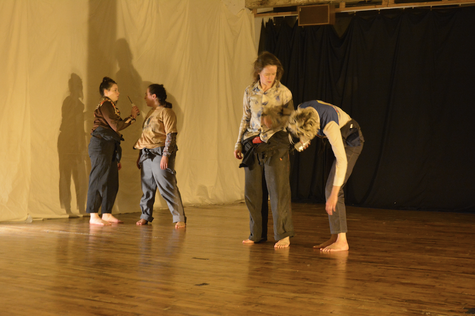 """""""Static Sweet"""" created by Lily Kind for the Headlong Performance Institute Final Show, 2015."""