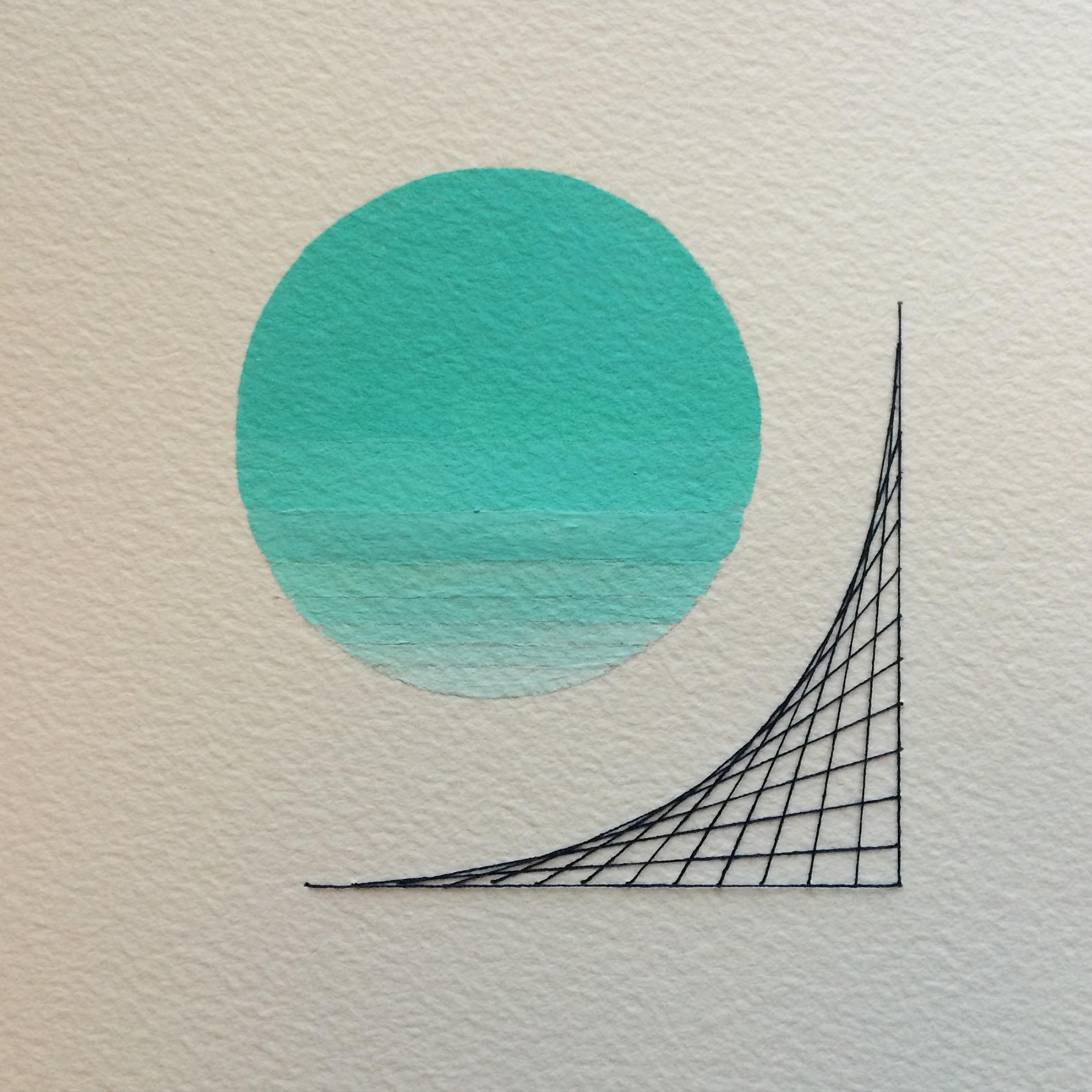 Sara Jones, drawing on paper, 2016.