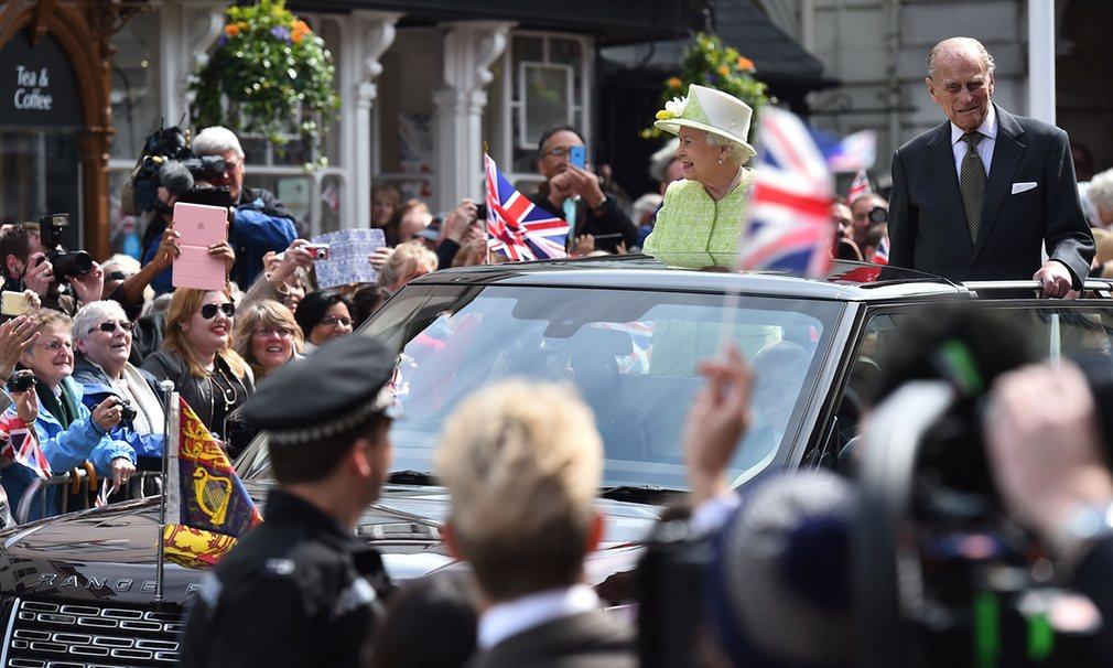 queens 90th birthday windsor visit