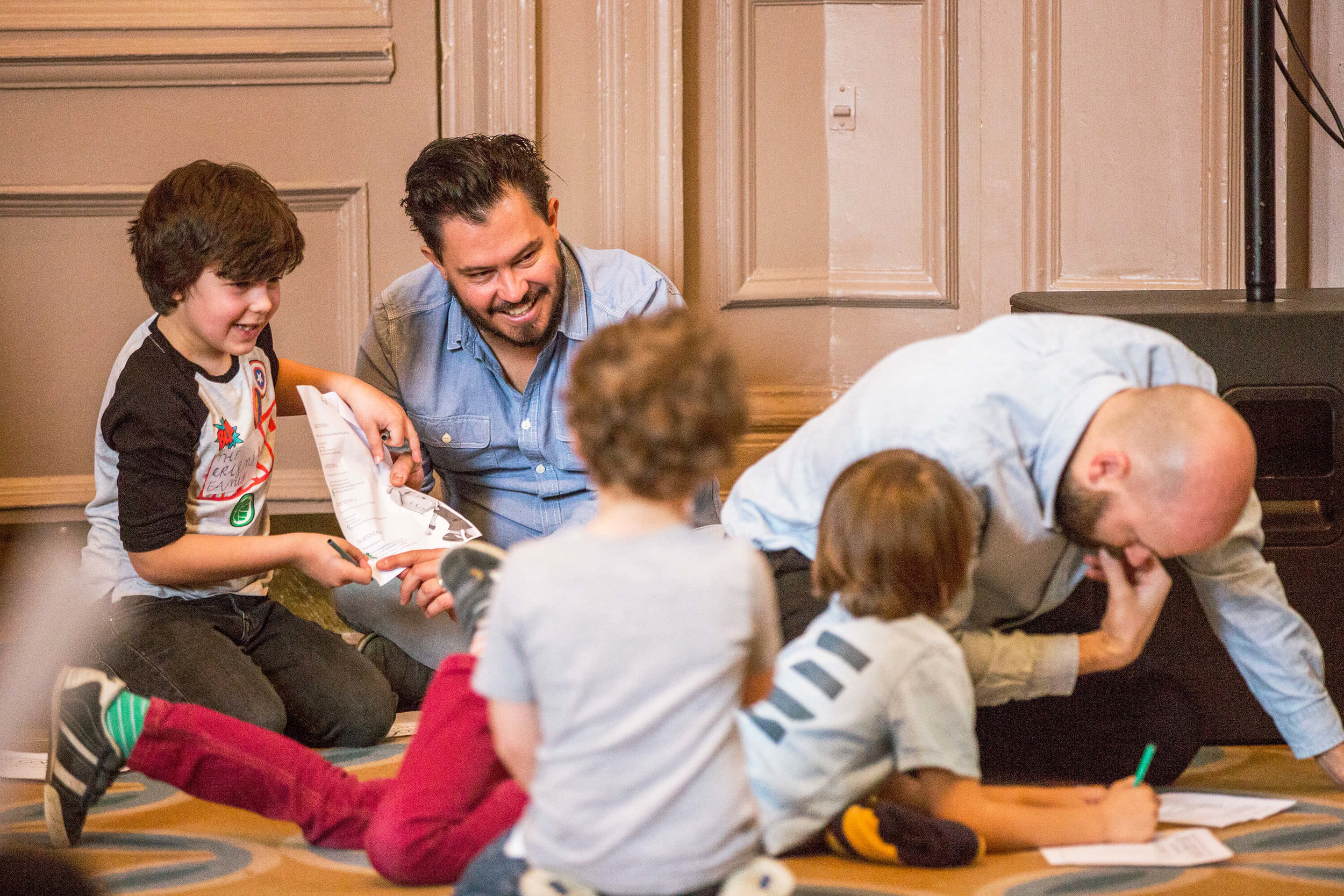 pre-school - children aged 3-5