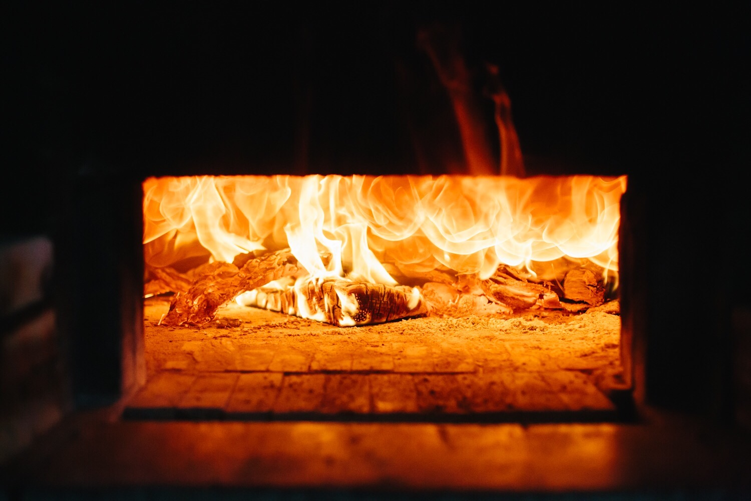fire wood burning oven