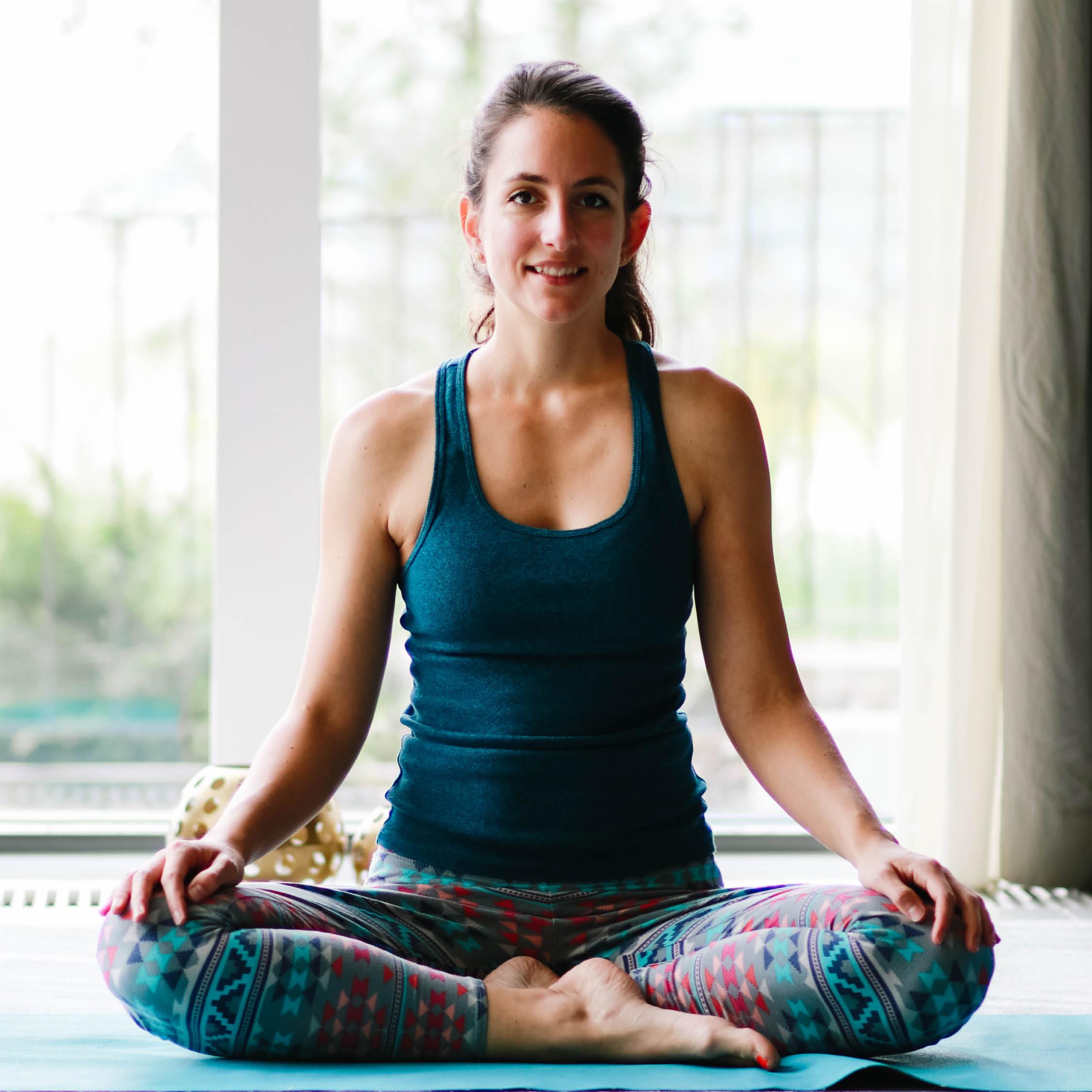 Séverine Telley, Yogalehrerin