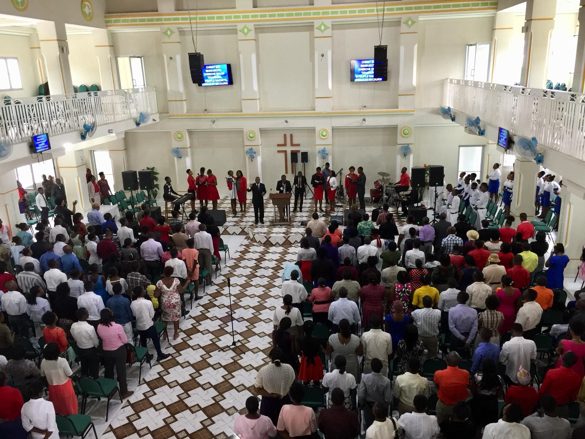 Sunday Service at Harvest Jacmel