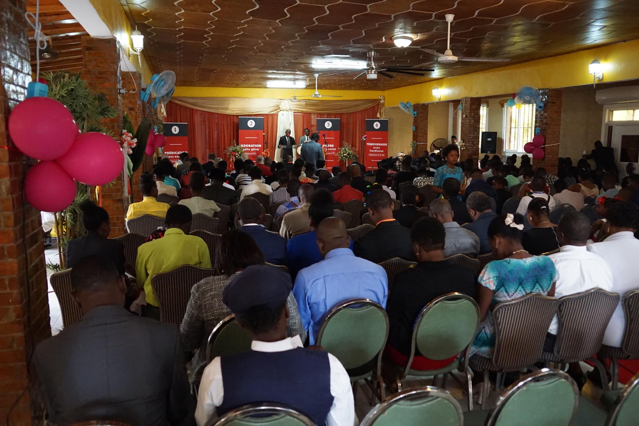 Sunday Service at Harvest Cap-Haitien