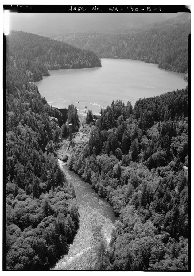 Lake Mills aerial