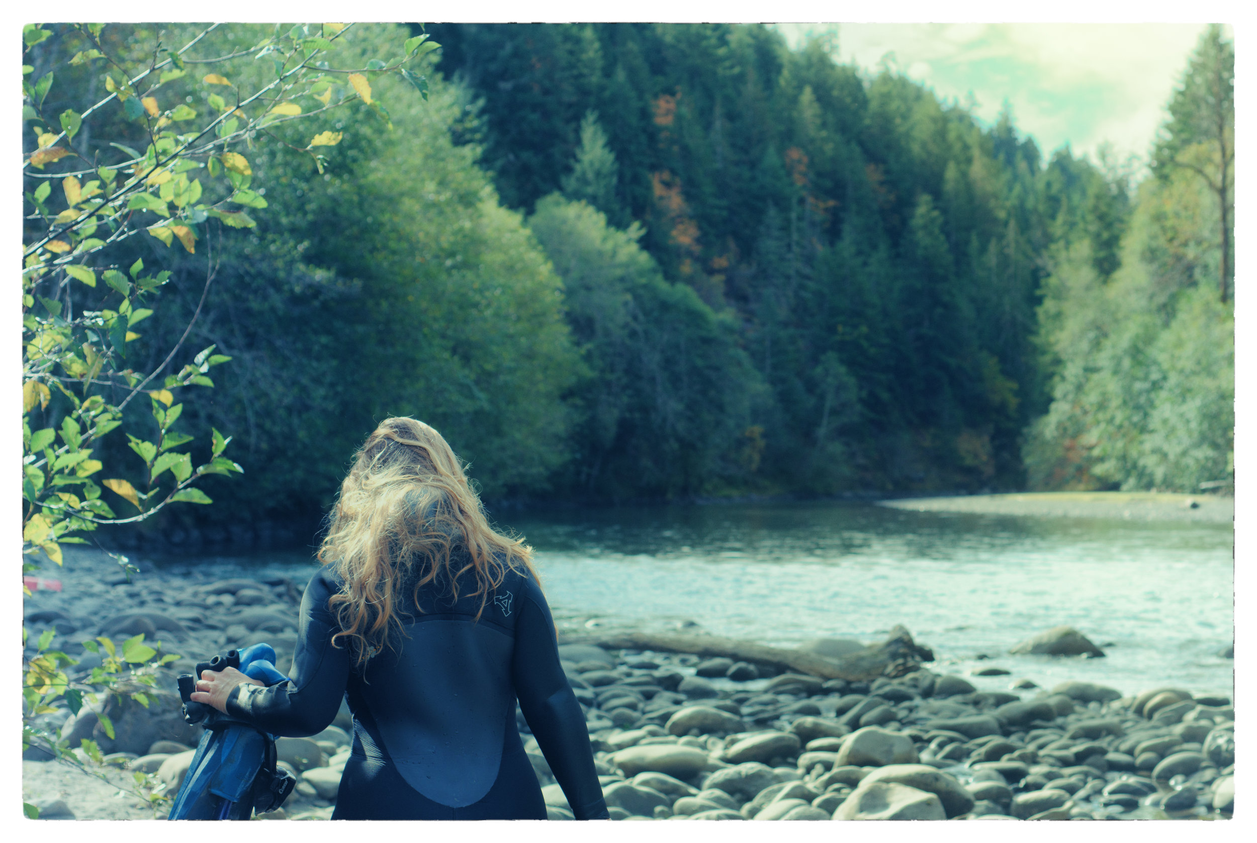 After a long day shooting in-on-under the Elwha River. Photo by the amazing Leah Hemberry Ricketts, Colchuck Media.