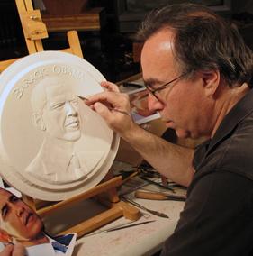 Mellon finalizing his design
