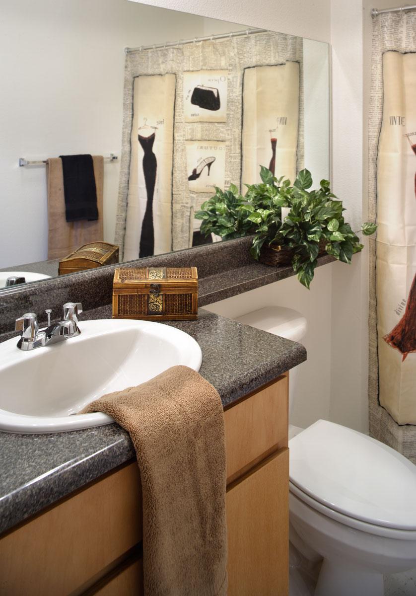 The Edge at Norman Full Bathroom