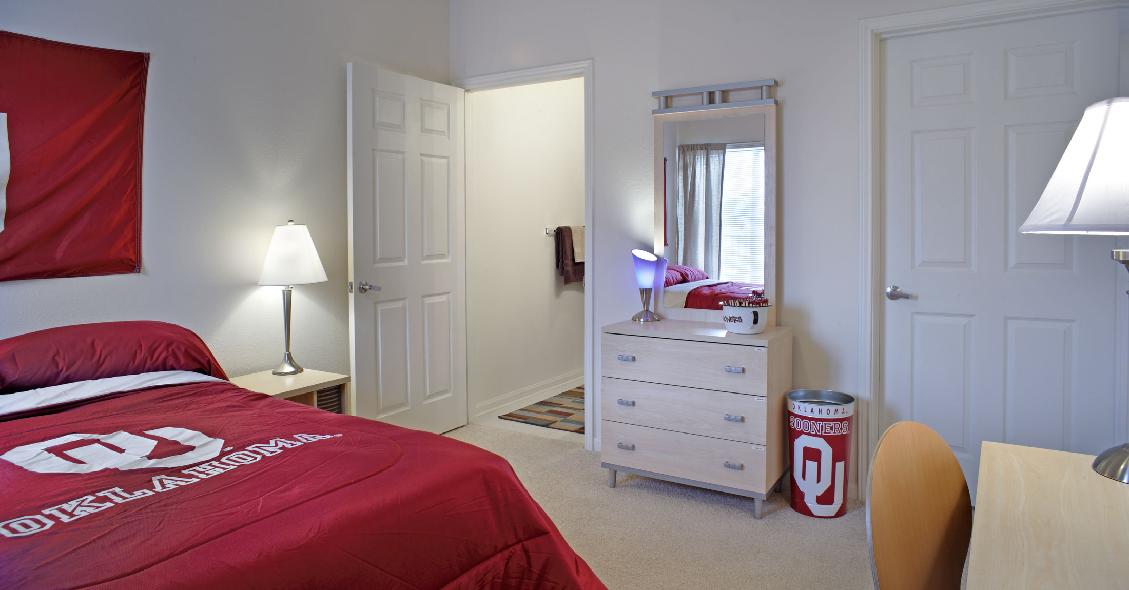 The Edge at Norman Fully Furnished Bedroom