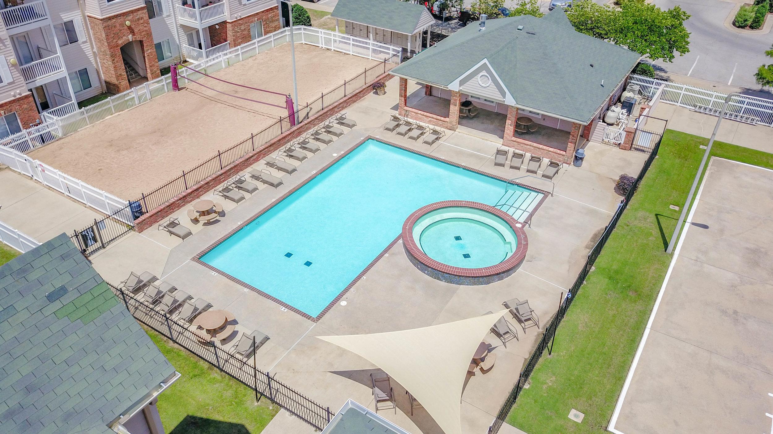 Pool at The Edge at Norman